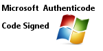 Microsoft Authenticode Code Signed Secure Application